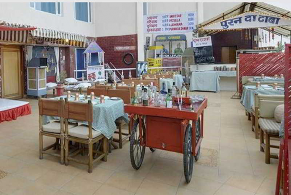 Puran Da Dhaba Of The Pride Hotel Nagpur In Wardha Road