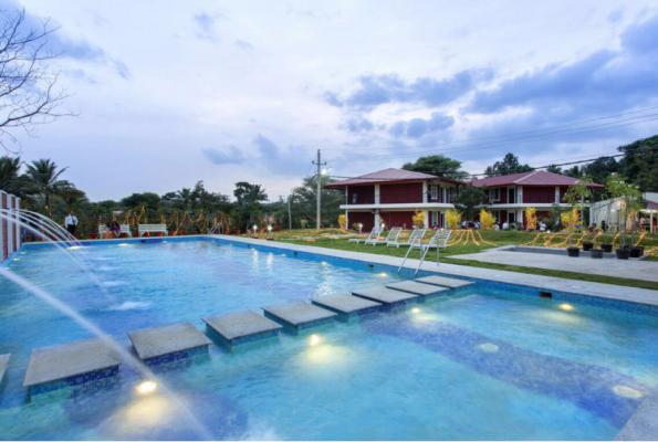 Rangamantapa Of Woods Resort In Banashankari Bangalore