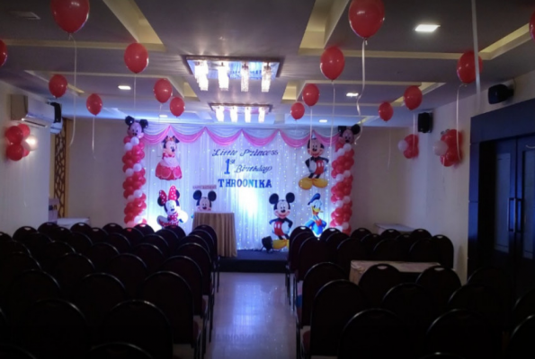 First Birthday Party Venues In Mogappair East List Of