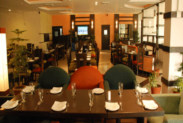 Restaurant at noida golf course in sector