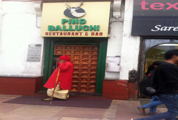 Park Balluchi Restaurant In Cp